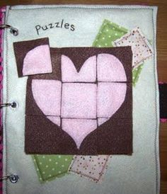 Quiet Book Ideas - great for car rides and church