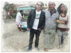 Izerguil, Carlos Y Gentian en Lima..