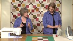 Quilting Quickly: Off My Back Quilt - Disappearing Nine Patch Quilt Pattern