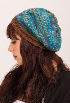 Tapestry Slouch Hat by Marianne Drysdale
