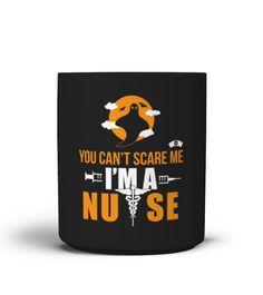 Halloween mug  You Can't Scare Me I'm A Nurse  Funny Halloween T-shirt, Best Halloween T-shirt