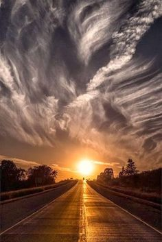 It's a long road to get to the sun, but the scenery is beautiful & it'll be worth it in the end.