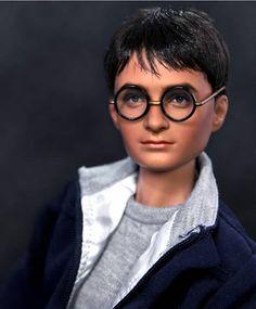 Noel Cruz Creations, Daniel Radcliffe as Harry Potter Pretty Dolls, Beautiful Dolls, Barbie Celebrity, Harry Potter Dolls, Realistic Dolls, Disney Dolls, Doll Repaint, Barbie Collection, Barbie World