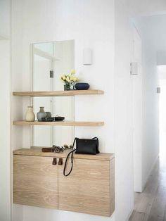 Esta é uma área que pode ser útil e causar boas impressões. Mesmo sem espaço, há como decorar de maneira agradável e funcional