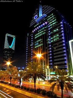 Novotel Hotel - Kingdom Tower , Riyadh, Saudi Arabia | برج المملكة by Abdulrahman Tabba'a, via Flickr