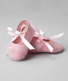 Take a look at this Pink Ballet Shoe by Little Me on  zulily today! c6e7fc77b79