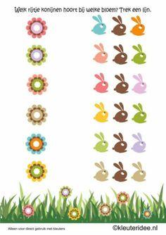 Çocuk gelişim Teacher Worksheets, Worksheets For Kids, Preschool Learning, Creative Thinking, Coloring Sheets, Easter Crafts, Free Printables, Diy And Crafts, Spring