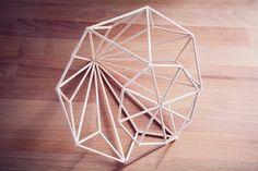 Rotkehlchen: DIY: ferm living inspired diamond