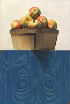"Kevork Cholakian; Painting, ""Peaches"""