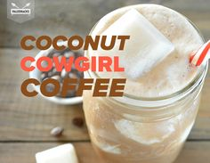 Jennafer AshleyStart the morning off right with this rich and delicious Paleo iced coffee. Coconut milk ice cubes…