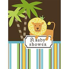 for the jungle-baby-shower-theme