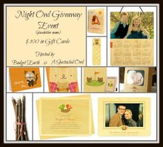 New Age Mama: Night Owl Giveaway Event
