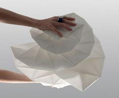 paper lamps - issey Miyake