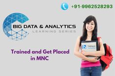 Learn #Bigdata #Analytics from Expert with best #Placement support reach us #BesantTechnologies. Further details make a call us @ +91-9962528293.