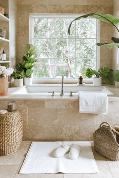 Dream bathrooms 353110427035359600 - How I Turned My Bathroom Into Self-Care Central – What's New for September :: All About Style – Camille Styles Source by Bathtub Decor, Bathroom Spa, Bathroom Layout, Bathroom Interior Design, Small Bathroom, Bathroom Ideas, Remodel Bathroom, Interior Ideas, Bathroom Candles