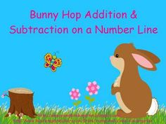 Free & Revised Bunny Hop on the Number Line! I added more to this...redownload if you have already downloaded it!