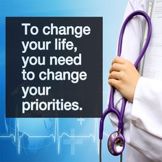 To change your life, you need to change your priorities. #premed #motivation #premedlife #MCAT #futuredoctor