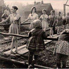 Russian ballet class in ww2