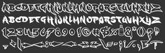 Cholo Graffiti Alphabet | Cholo Alphabet Sample alphabets & symbols