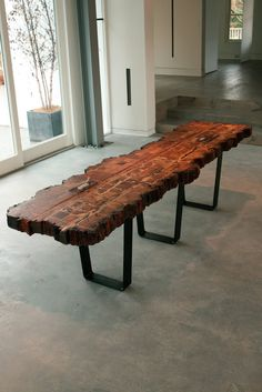 barnwood console table - Google Search