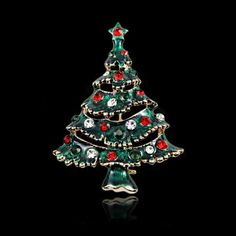 Deniferymakeup Fashion Rhinestone Christmas Tree Pin Brooch Tiny Pin Christmas Gift Craft Brooch Vintage Rhinestone Christmas Jewelry Exceptional Clear Crystal Christmas Tree Pin (Green Top Star) ** Details can be found by clicking on the image. (As an Amazon Associate I earn from qualifying purchases) Classic Christmas Presents, Christmas Crafts For Gifts, Christmas Jewelry, Gold Christmas, Christmas Sale, Craft Gifts, Holiday Gifts, Christmas Bulbs, Christmas Shopping