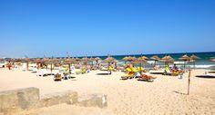 Beach resort at Sousse Tunisia
