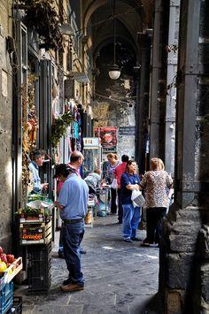 Via dei Tribunali Napoli Campania Italy Naples, Places To Travel, Places To Visit, Milan, Capri, Italy Travel Tips, Southern Italy, Visit Italy, Italy Vacation