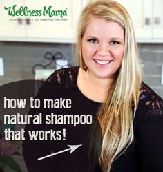 How to make natural shampoo that works
