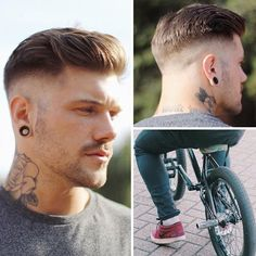 So, here we are in the final week or so of 2015. Lets take a look at the most popular men's hairstyle photos that we posted on Pinterest this year. These are the top 10 most