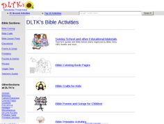 This is the best website for children's bible lessions!! It also has other learning activities for kids!