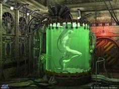 Laboratory clones - Computer graphics and animation - Render.ru