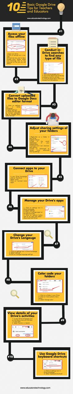 10 Handy Google Drive Tips Every Teacher Should Know about
