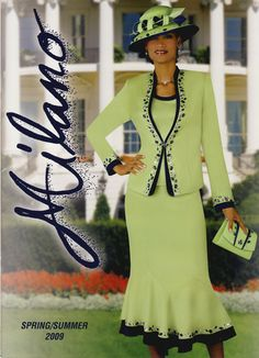First Lady Suits and Hats | New ladies suits for less, Resurrection Sunday suits, lady- Sunday ...