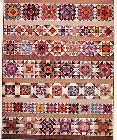 Row quilt no pattern
