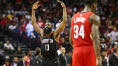 NBA Saturday scores news highlights updates Harden Rockets set mark in win over Pelicans