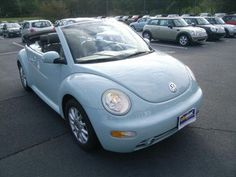 Even though my 2000 VW Beetle has been the bane of my existance lately, I will always love The Bubble. Wouldn't mind this as a replacement! *2005 VW Beetle $15,998.00
