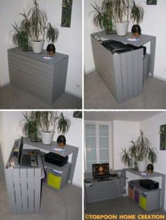 DIY-Hideaway-Home-Projects-24..love thus for a tiny house or small space