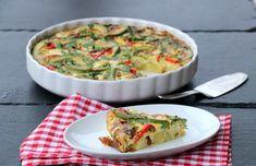 Middagsomelett med potet & avokado - LINDASTUHAUG Quiche, Breakfast, Quiches, Morning Breakfast, Custard Tart