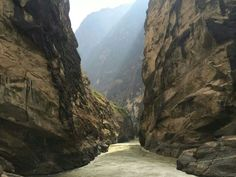 Tiger's Jump Canyon in China along the Yangtse River.