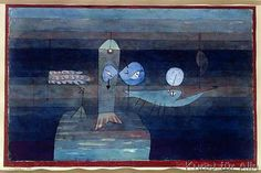 Paul Klee - Good place for fish, 1922 (no 138)