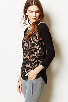 Social Dance Fashion...... Filigree Lace Top