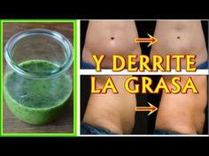 Esta es la mezcla perfecta para eliminar la grasa en el estómago - YouTube