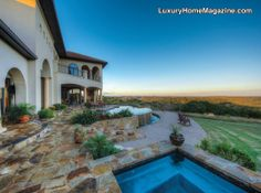 Comfort Luxury Homes and Real Estate   Exclusive Hilltop Gated Estate