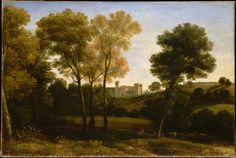 Claude Lorrain (Claude Gellée) | View of La Crescenza | The Metropolitan Museum of Art