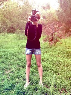 this, but in Faber woodlands Chelsea Kane, Bermuda Shorts, Lens, Artsy, Creatures, Lights, My Style, People, Baby