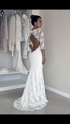 Wonderful Perfect Wedding Dress For The Bride Ideas. Ineffable Perfect Wedding Dress For The Bride Ideas. Long Wedding Dresses, Wedding Gowns, Short Girl Wedding Dress, Modest Wedding, Prom Dresses, Wedding Dresses Tight Fitted, Wedding Dress Trumpet, Dresses 2016, Dresses Dresses