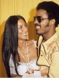 Young cher and stevie wonder