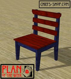 Plan of the Week: Cabin Chair