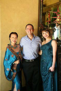 Executive Vice President of Sony Films, Ignacio Darnaude and Actress Angelina Vital