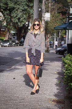 Printed Skirt – Anna Fasano